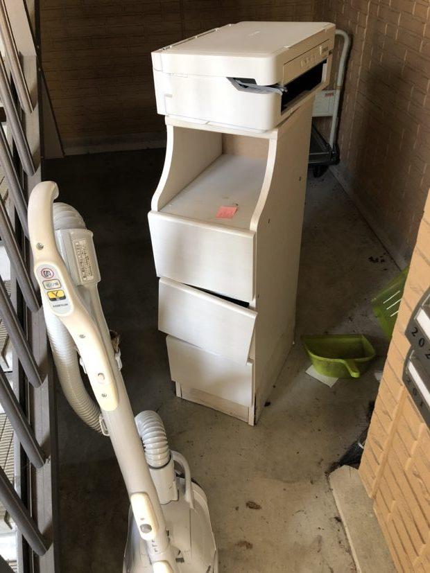 【甲賀市信楽町】掃除機やプリンターの回収☆処分を急いでいるお客様に対応の早さでご満足いただけました!