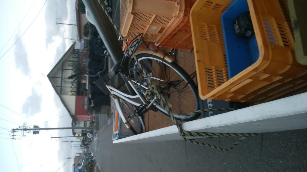 【秋田市】自転車1台の回収☆指定日時にお伺いし、お喜びいただけました!
