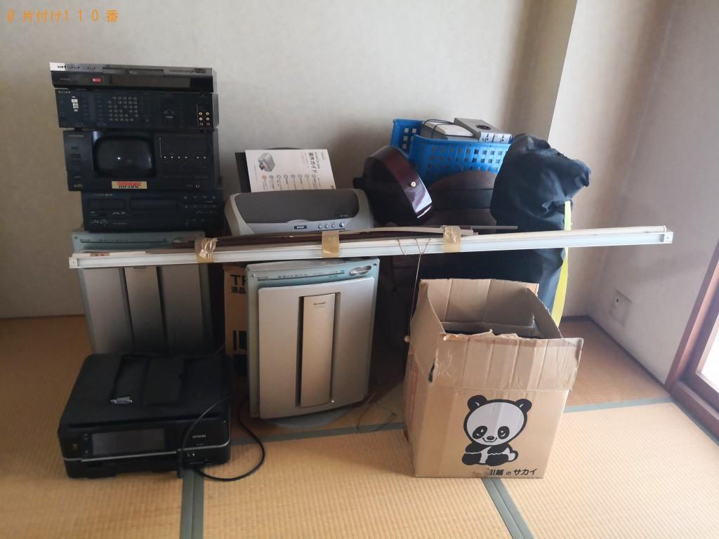 【大阪市阿倍野区】軽トラック1台分の不用品回収ご依頼 お客様の声