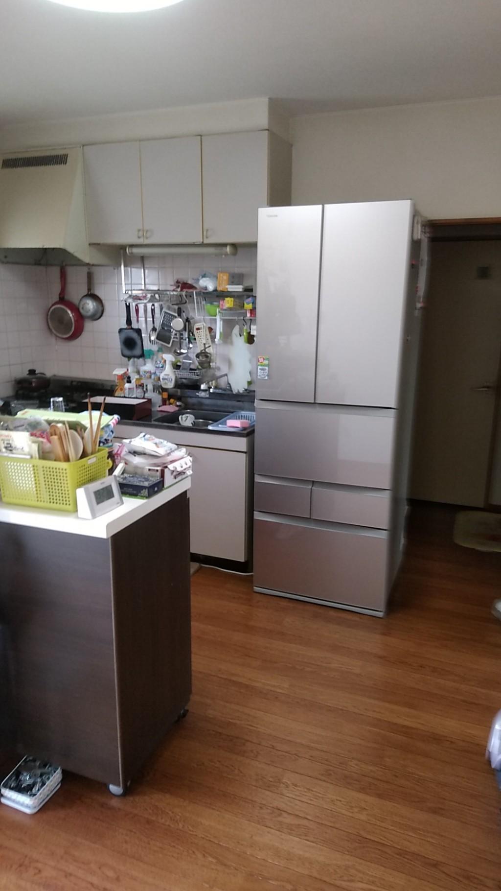 【倉敷市】本棚、整理タンスなど2tトラック1台程度の不用品回収☆大きな家具の処分を一気にでき、大変満足していただきました!