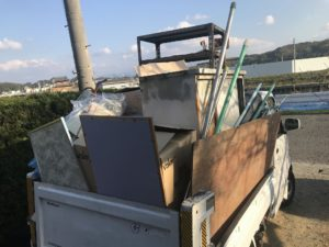 【和歌山市】実家の不用品回収☆軽トラ積み放題パックでご満足いただけました!