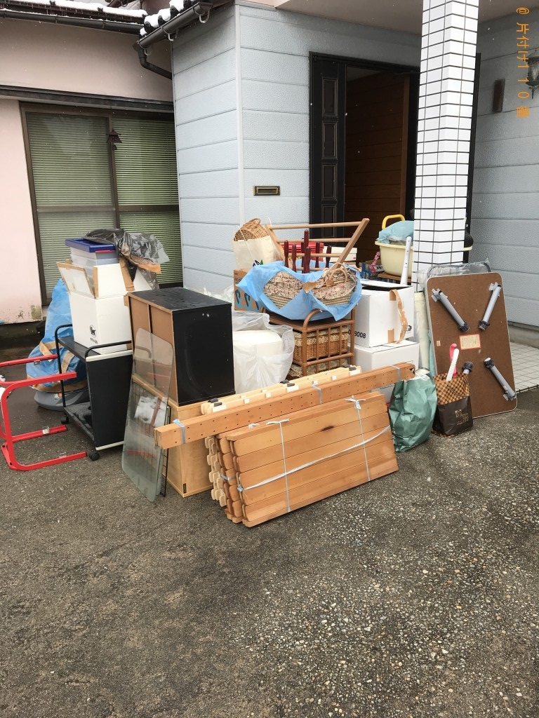 【河北郡内灘町】布団や衣類等の不用品回収・処分ご依頼 お客様の声