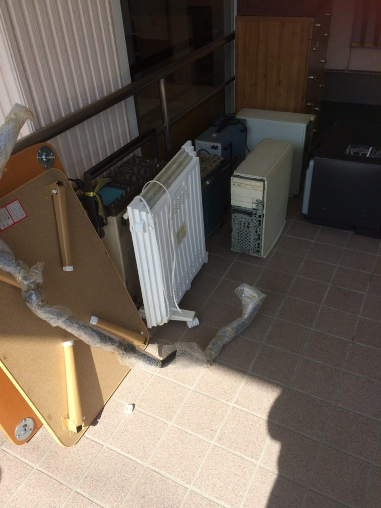 【加茂郡白川町】家電・家具の回収☆一気に不用品を片付けることができました!