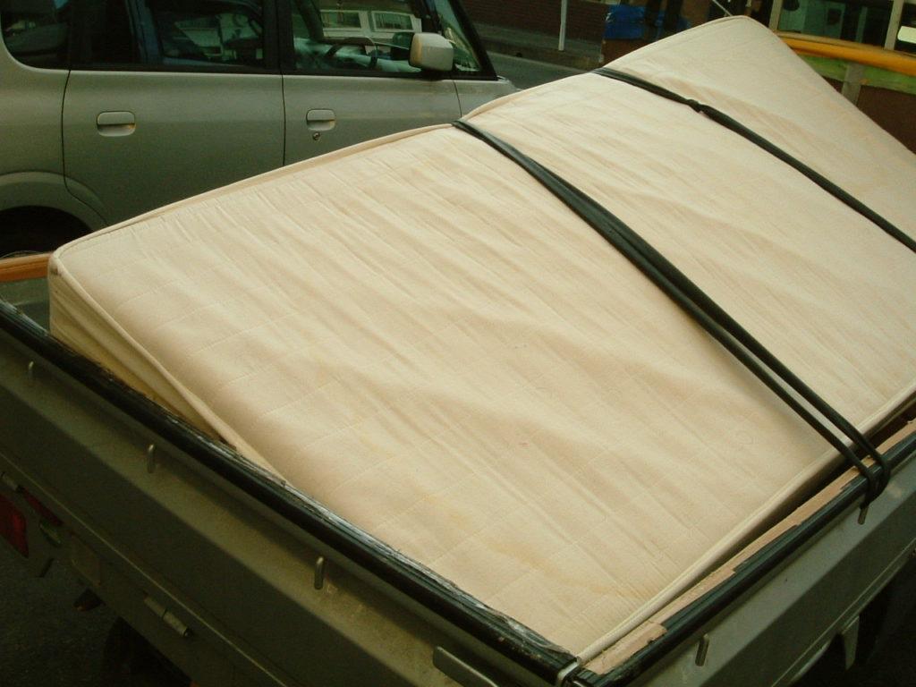 【滝沢市】シングルベッドを急いで回収☆無事処分期限に間に合いお喜び頂けました。