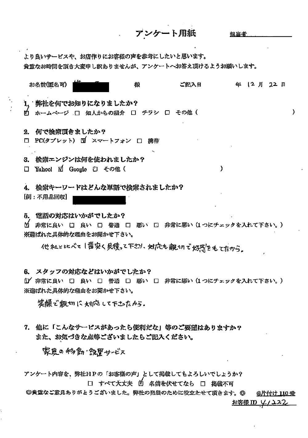 【上三川町】ハウスクリーニングのご依頼☆家中を綺麗にできご満足いただけました!