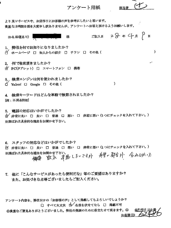 【米子市】ゴミ屋敷の片付け作業☆綺麗に片付きお喜びいただけました!