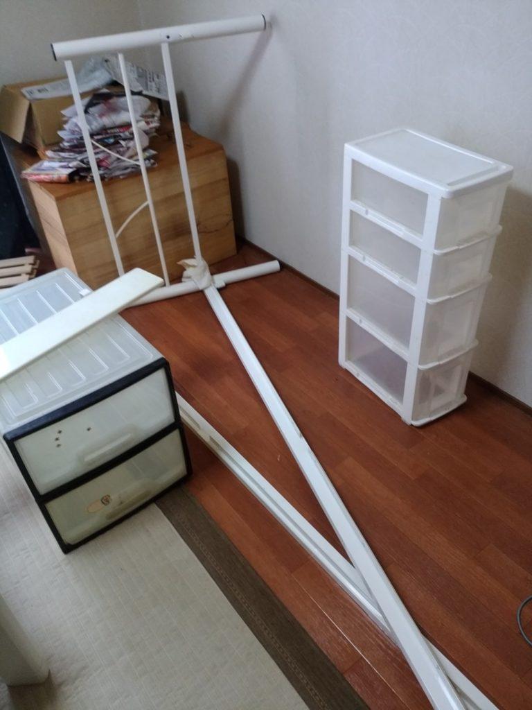 【福井市】大き目の家具回収☆希望通りの日時・見積もり通りの料金での回収で大変喜んで頂けました。