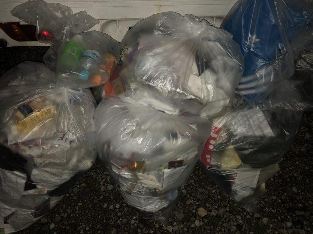 【杉並区】家庭ゴミの回収☆未分別のものも安く回収できてご満足いただけました!