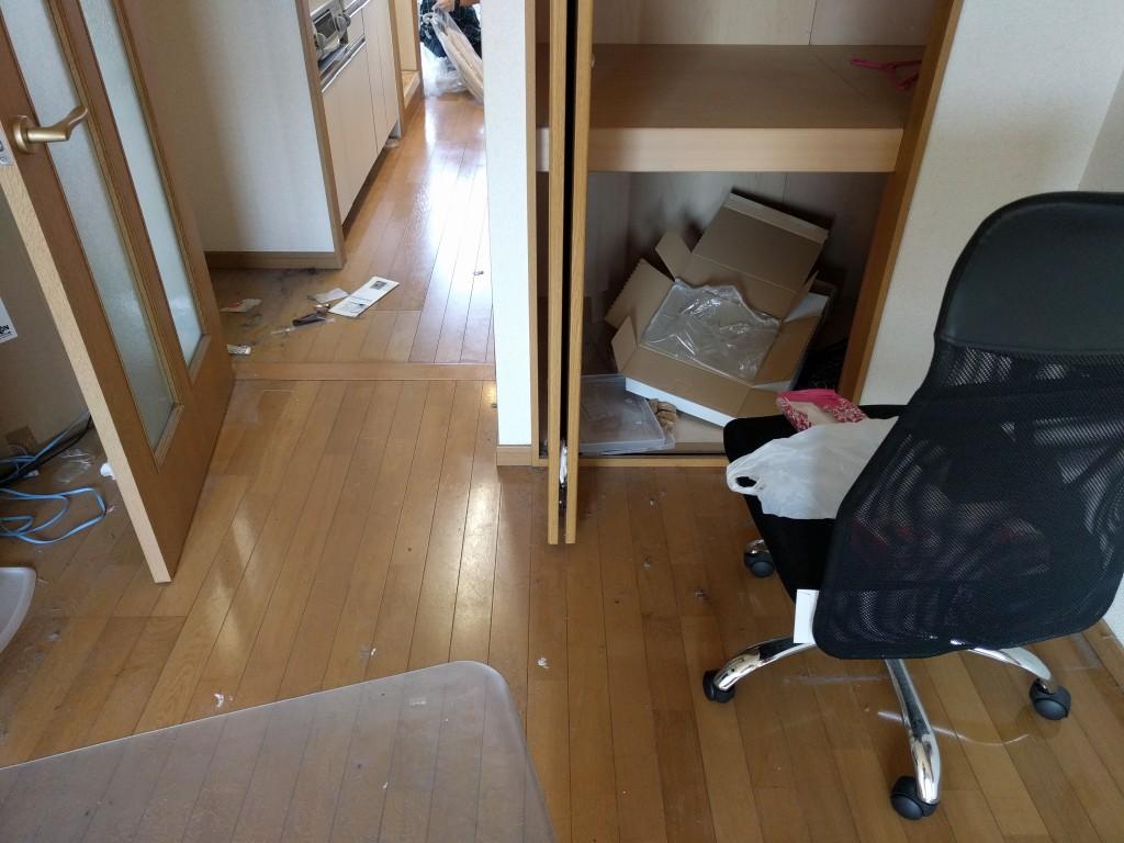 【水戸市】引越しに伴う不用品回収とハウスクリーニング☆すっかり綺麗になりお喜びいただけました!