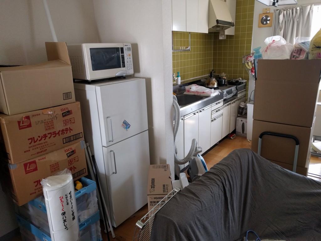 【つくば市】冷蔵庫などの処分とハウスクリーニング☆ピカピカに片付きお喜びいただけました!