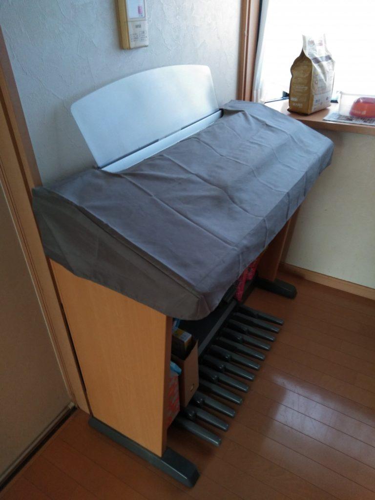 【高松市国分寺町】エレクトーン、学習机などの回収ご依頼☆2階からの搬出も頼めたとお喜びいただけました。