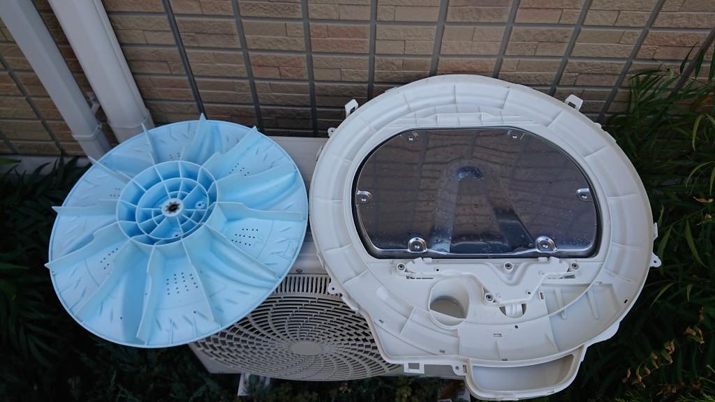 【倉敷市】洗濯機クリーニングのご依頼☆真っ白になってお喜びいただけました!