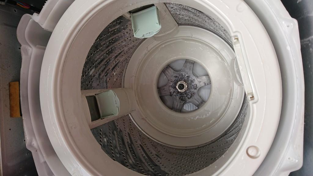 【高知市】洗濯機クリーニングのご依頼☆水垢も綺麗になりお喜びいただけました!