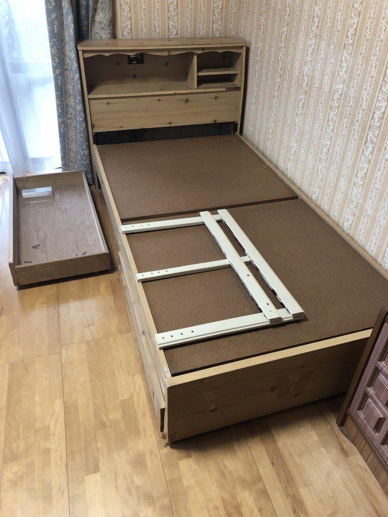 【平生町】家具や金庫の回収☆希望日に回収できご満足いただけました!
