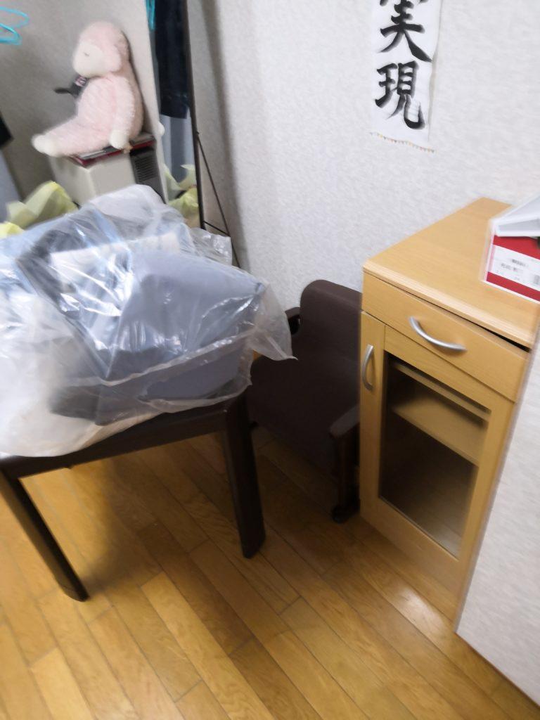 【横手市松原町】引越しでの不用品回収☆希望日時で大量の不用品を全て引き取りしてもらえたとお喜び頂けました。