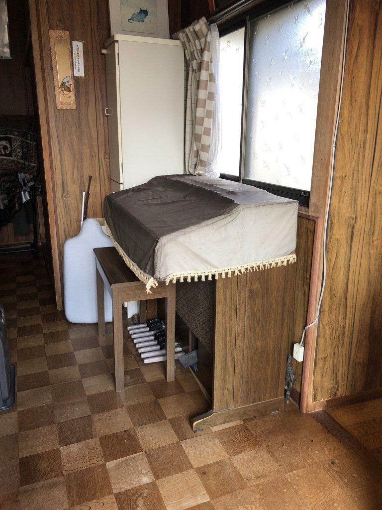 【大分市鶴崎】約60kgのエレクトーンの回収ご依頼☆即日対応でお喜び頂けました。