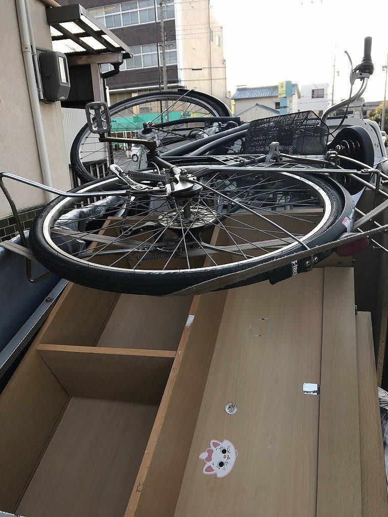 【和歌山市材木丁】自転車の回収☆電話後2時間以内のスピード回収で大変喜んで頂けました。