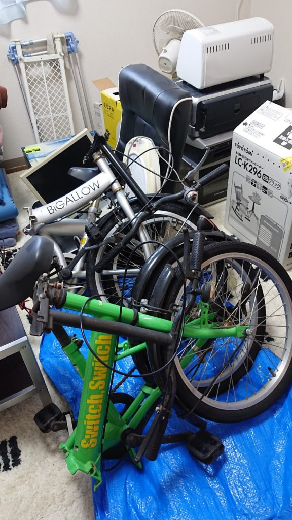 【長野市】たくさんの不用品回収☆希望の土日で割増料金もなく回収してもらえたとお喜び頂けました。