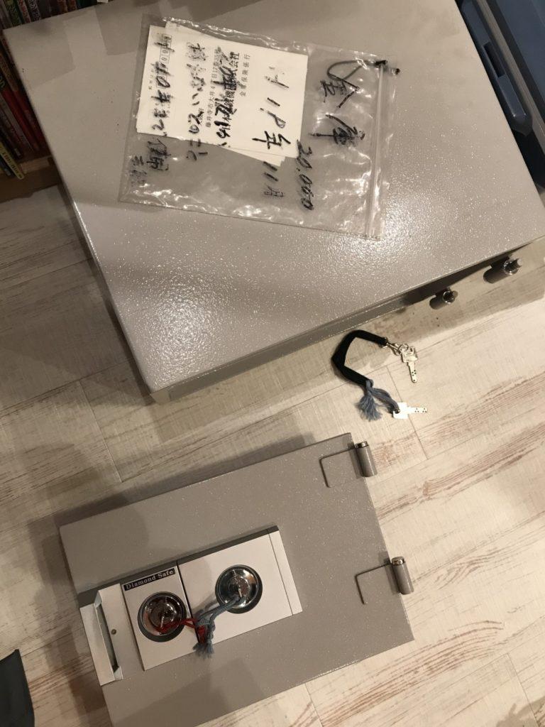 【大阪市東住吉区】金庫の回収☆事前の案内通りの金額だったとご満足いただけました!