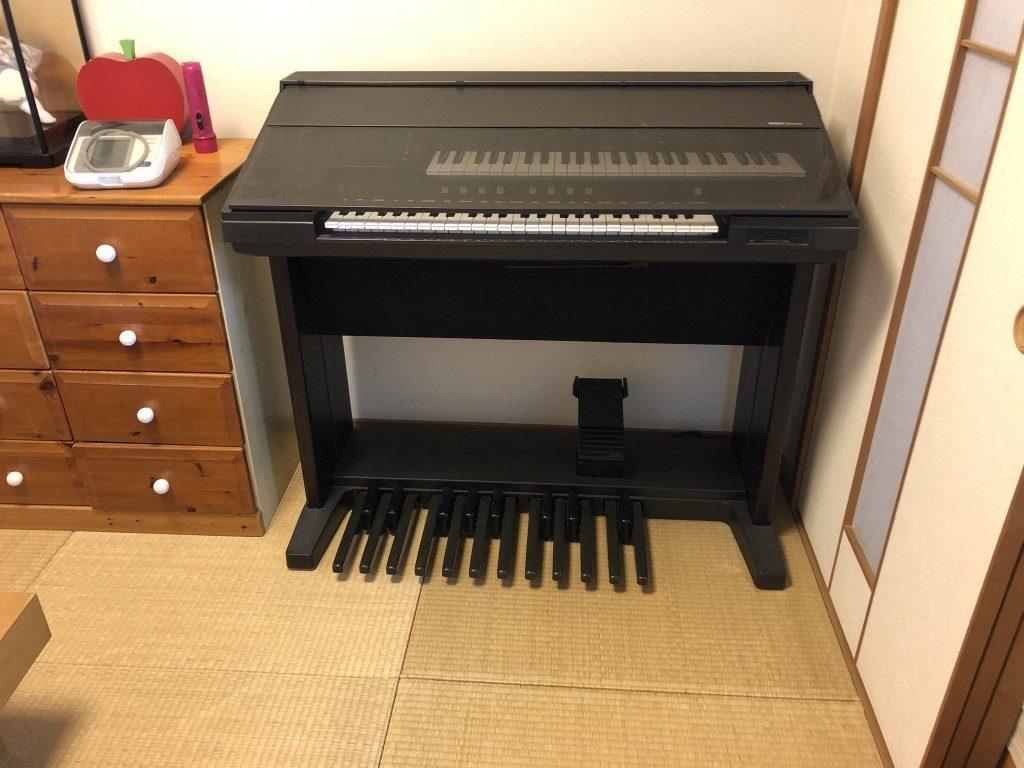 【熊本市中央区】エレクトーンと学習机の処分ご依頼☆大きな不用品が一気に片付きすっきりしたとお喜び頂けました。