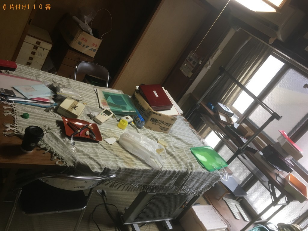 【京都市上京区】遺品整理で不用品処分ご依頼 お客様の声