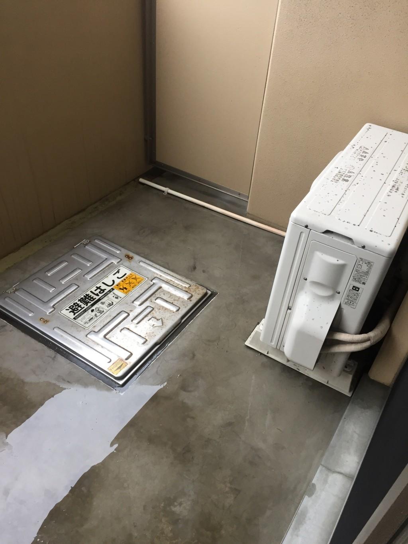 【福岡市博多区】ベランダのハウスクリーニング事例☆退去前に綺麗になりお喜びいただけました!
