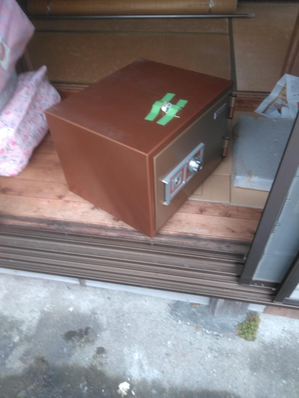 【新居浜市】金庫の回収☆お急ぎの依頼に対応できご満足いただけました!