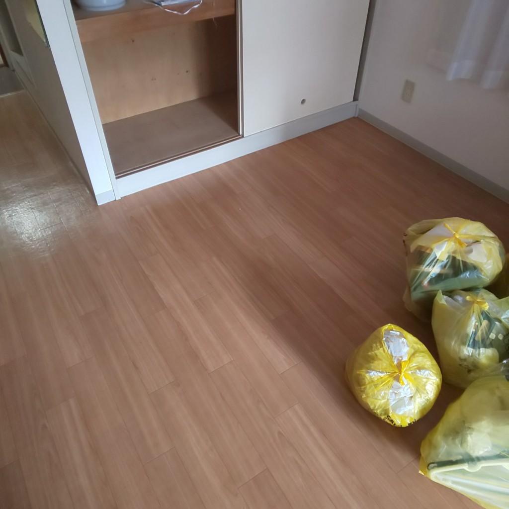 【札幌市北区】お引っ越しに伴う不用品の回収☆退去までの時間が少ないお客様に、迅速な回収でお喜びいただけました!