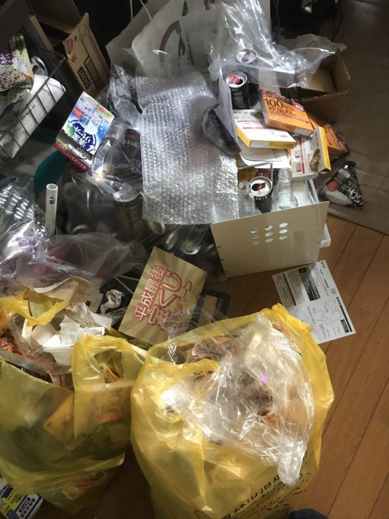 【青森市】ダンボール、家庭ごみの回収☆ゴミの多さに憂うつだったが、即日対応してもらえて助かったとお喜びいただけました!
