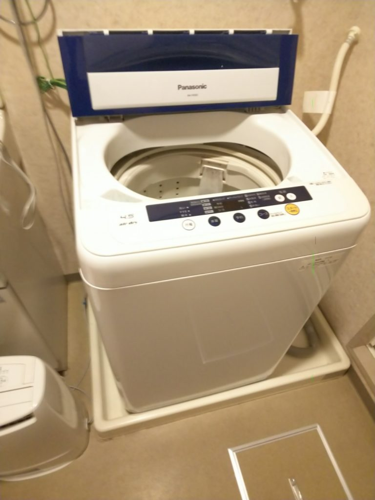 【福山市木之庄町】洗濯機の回収☆希望日の回収で喜んでいただきました!