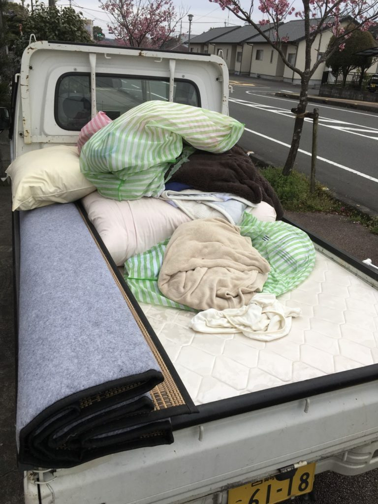 【小林市】軽トラック1台程度の不用品回収☆お客様のお悩みやご要望にしっかりと対応できご満足いただけました!