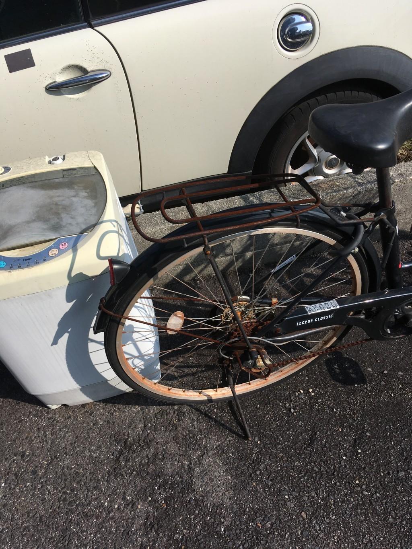 【豊田市広路町】洗濯機、自転車の回収☆ご希望日、お見積り通りでの回収にご満足いただけました!