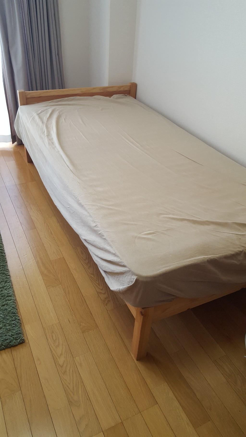 【倉敷市】シングルベッドの回収☆お得なお値段に大変満足していただきました!