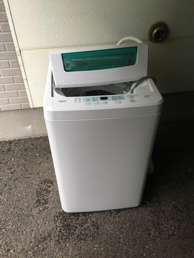 【新潟市西区】洗濯機の回収☆短時間で回収し、作業の早さにご満足いただけました!