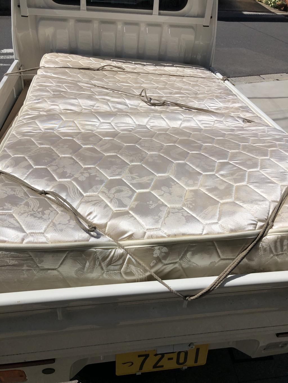 【千葉市中央区】ベッドの回収☆希望日での対応と明瞭な金額にご満足いただけました!