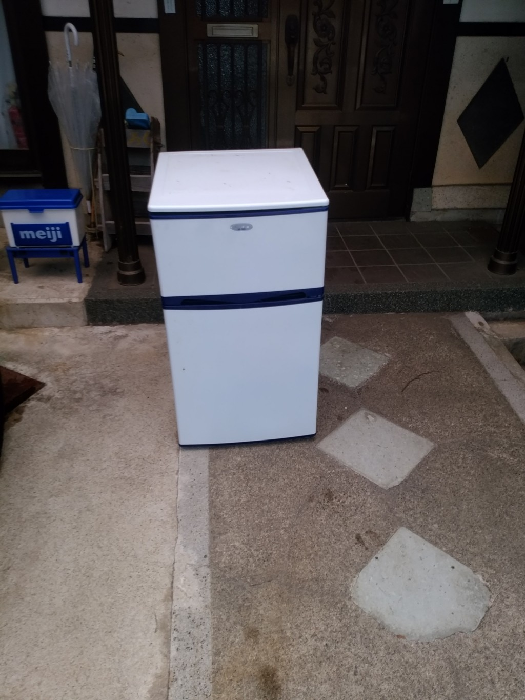 【勝山市元町】冷蔵庫など軽トラック1台程度の不用品回収☆早急な対応に喜んでいただきました!