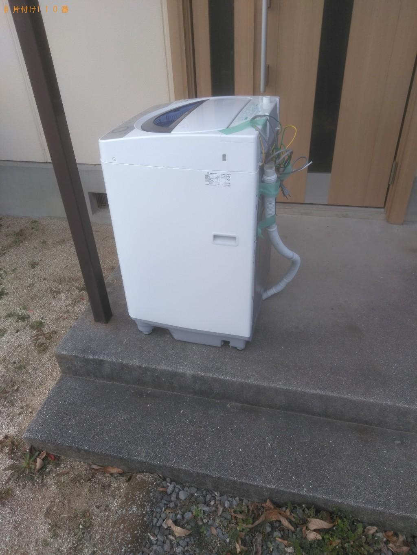 【松山市吉野町】洗濯機回収ご依頼 お客様の声