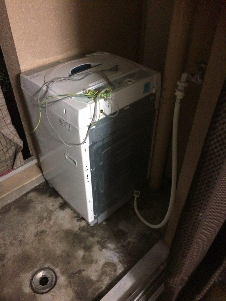 【岐阜市八代】洗濯機1台の回収☆カード決済の対応や、ご希望日での回収にご満足いただけました!