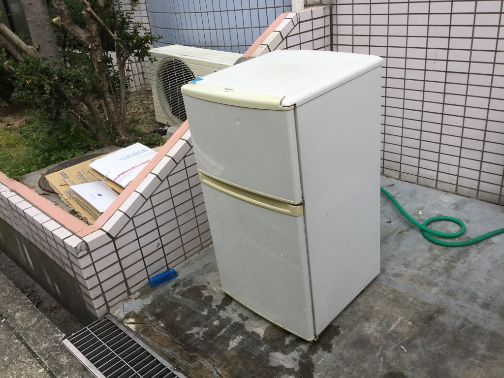 【大阪市淀川区】冷蔵庫の回収☆スタッフの親切丁寧な対応に満足していただきました!