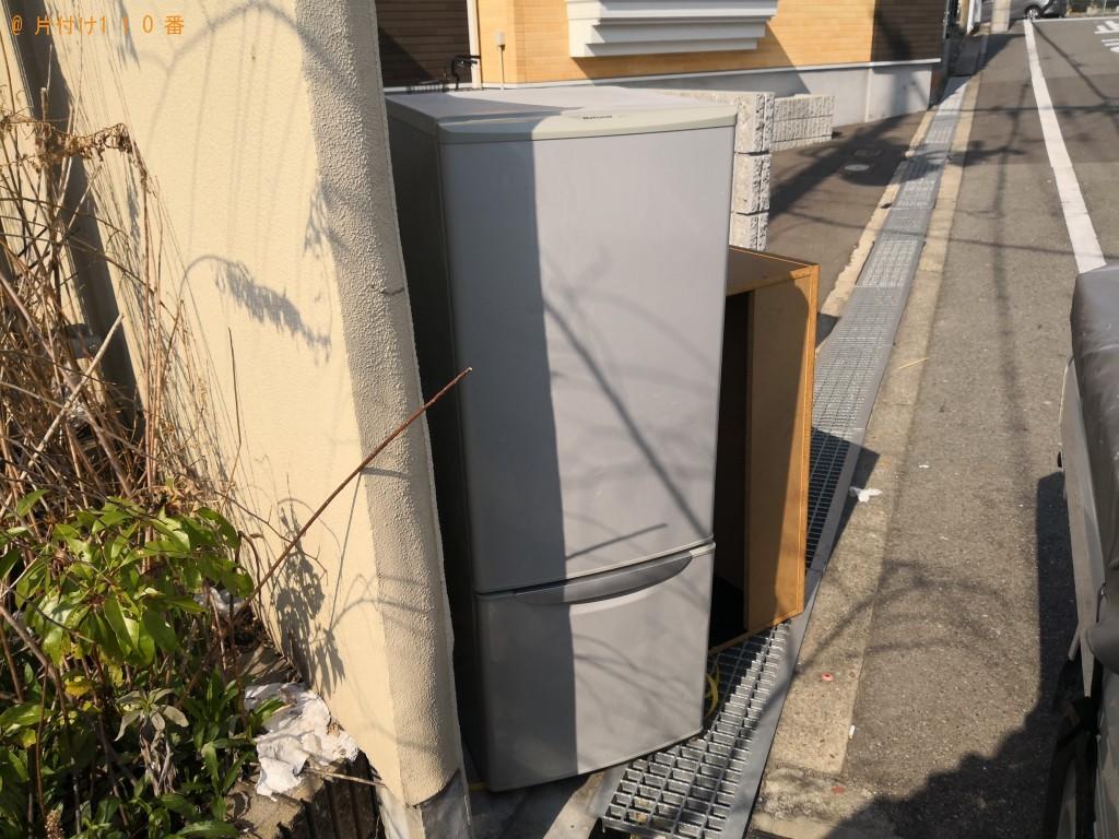 【大阪市港区】冷蔵庫の出張不用品回収・処分ご依頼 お客様の声