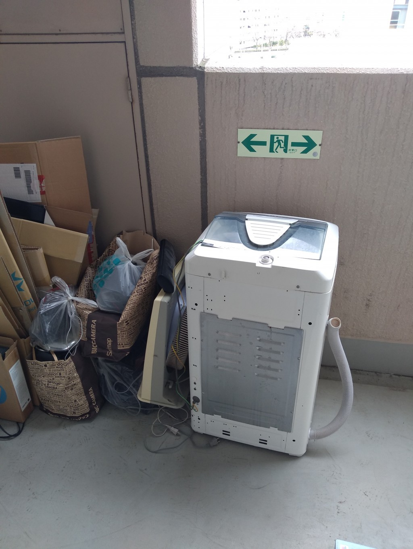 【鹿児島市新栄町】家電、エアコンなどの回収☆引越し後の不用品をスピーディに回収してくれて助かったとお喜びいただけました!