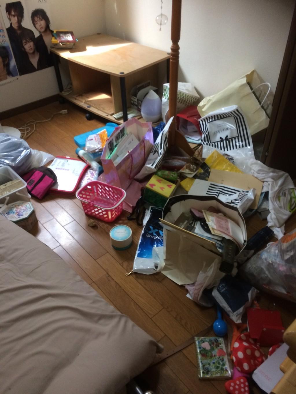 【瑞穂市】本棚などの2tトラック一台程度の不用品回収☆いろいろな不用品を処分でき、喜んでいただきました!