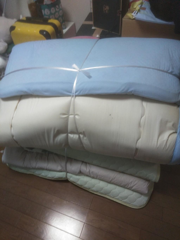 【東温市】家財道具の回収☆ベッドの解体から対応してもらえて助かったとお喜びいただけました!