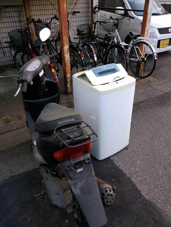 【福井市】洗濯機などの軽トラック1台程度の不用品回収☆スタッフの迅速で丁寧な対応に満足していただきました!