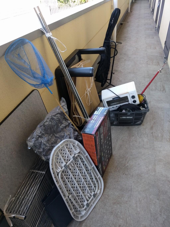 【下関市】こたつ、カーペットなど軽トラック1台程度の不用品回収☆早急な対応に大変満足していただきました!