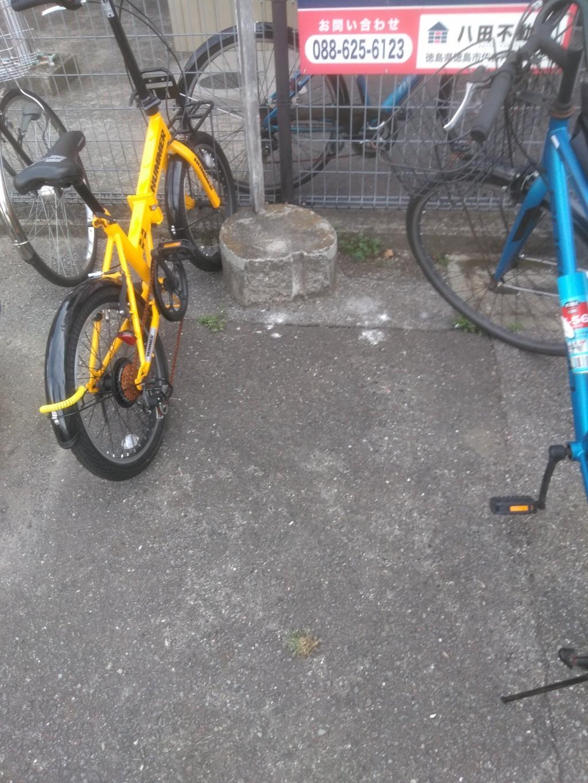 【徳島市南蔵本町】自転車の回収☆希望日での回収に大変ご満足いただけました!