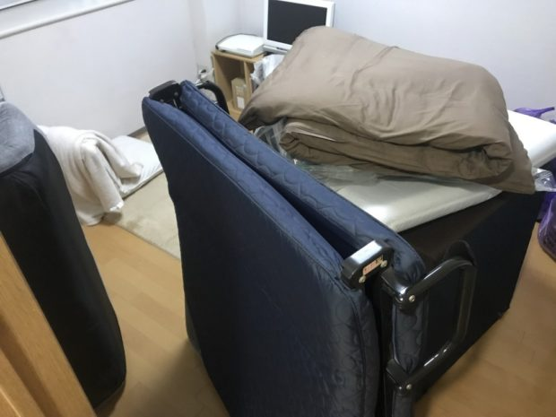 【貝塚市北町】寝具やソファーの即日回収☆お電話から数時間ほどで回収し、処分を急いでいたお客様に喜んでいただけました!