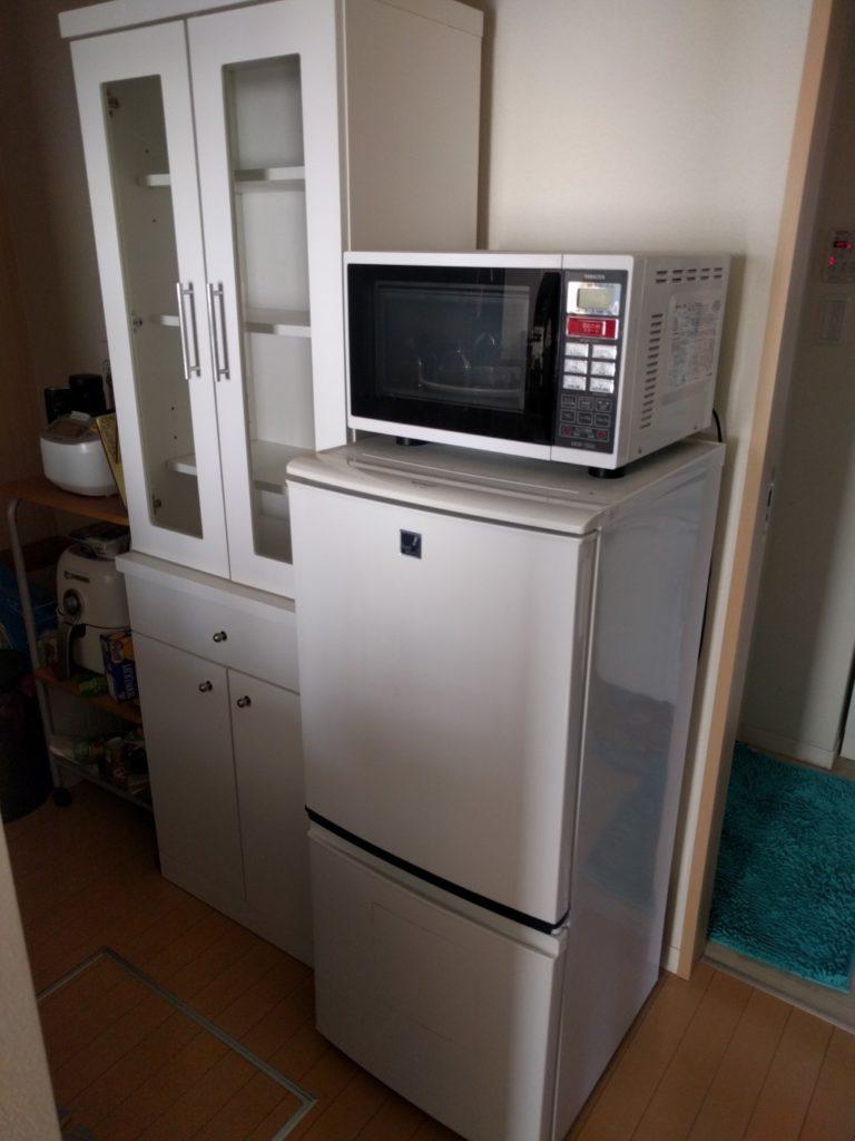 【下関市生野町】家電、食器棚、ソファーの回収☆忙しい時期に対応してくれて助かったとお喜びいただけました!