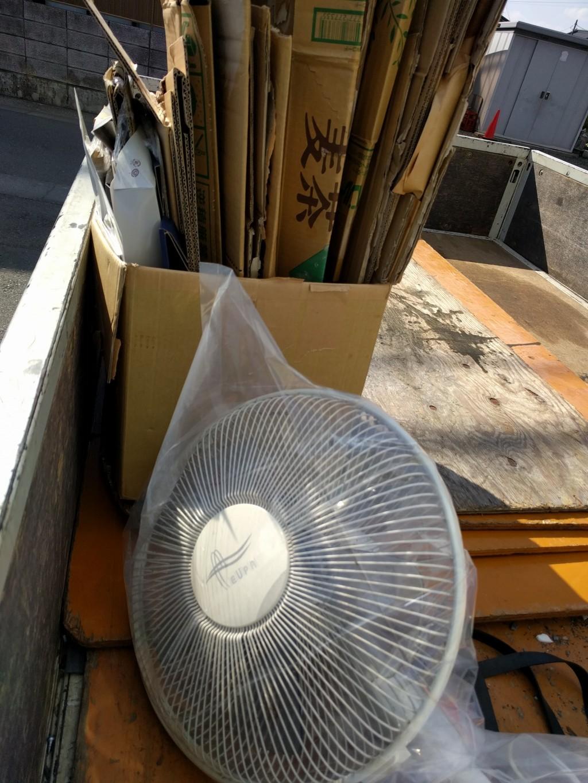【水戸市渡里町】お引っ越しに伴う不用品の回収☆日曜日でも回収してくれるから助かったとお喜びいただけました!