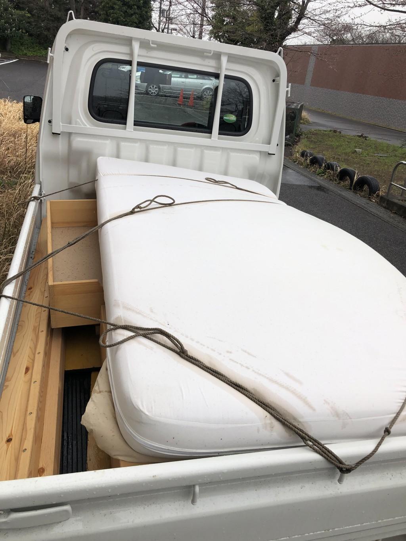 【流山市】遺品整理でベッド、マットレスなどの回収